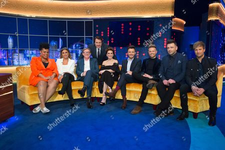 Editorial photo of 'The Jonathan Ross Show' TV show, Series 14, Episode 5, London, UK - 30 Mar 2019