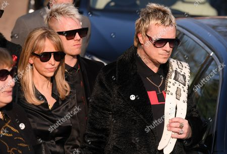 Stock Picture of Natalie Appleton and Liam Howlett