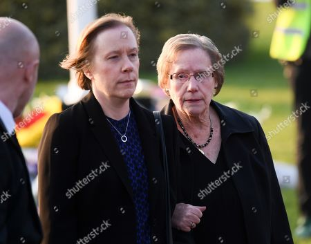 Stock Image of Yvonne Flint (mother) and sister of Keith Flint