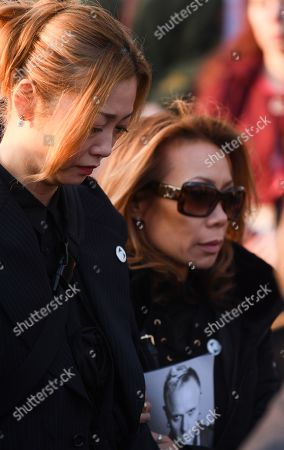 Stock Picture of Mayumi Kai, the widow of Keith Flint