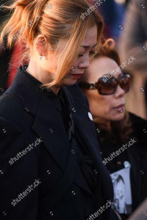 Mayumi Kai, the widow of Keith Flint