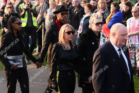 Editorial picture of The Funeral of Keith Flint, St Mary's Church, Bocking, Braintree, Essex, UK - 29 Mar 2019