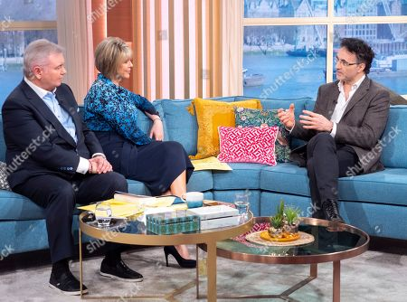 Eamonn Holmes and Ruth Langsford with Noel Fitzpatrick