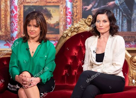 Daisy Goodwin and Kate Fleetwood