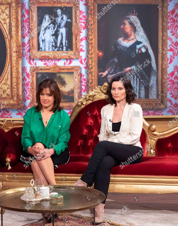 Stock Photo of Daisy Goodwin and Kate Fleetwood
