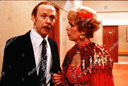 'George and Mildred' TV Series with Brian Murphy, Yootha Joyce.