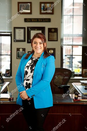 Editorial image of Mayor Erin Stewart photoshoot, New Britain, Connecticut, USA - 19 Mar 2019