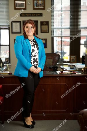 Editorial picture of Mayor Erin Stewart photoshoot, New Britain, Connecticut, USA - 19 Mar 2019