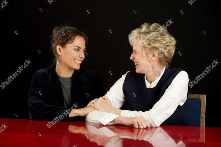 Siri Hustvedt and daughter Sophie Auster