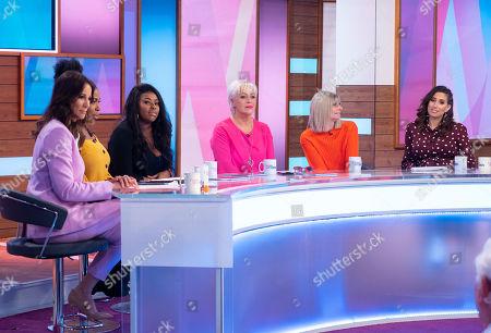 Editorial image of 'Loose Women' TV show, London, UK - 29 Mar 2019