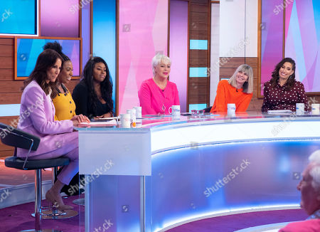 Editorial picture of 'Loose Women' TV show, London, UK - 29 Mar 2019