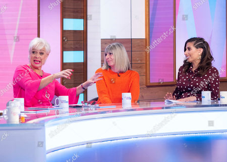 Stock Photo of Denise Welch, Fiona Solomon and Stacey Solomon