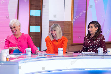 Denise Welch, Fiona Solomon and Stacey Solomon