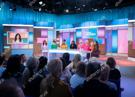Andrea McLean, Fiona McLean, Brenda Edwards, Tanisha Edwards, Vin Welch, Denise Welch, Fiona Solomon and Stacey Solomon