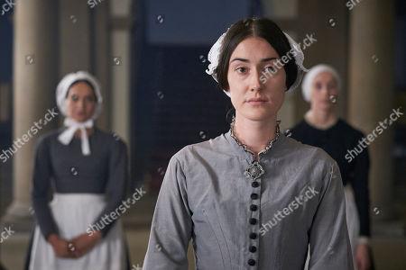 Laura Morgan as Florence Nightingale.