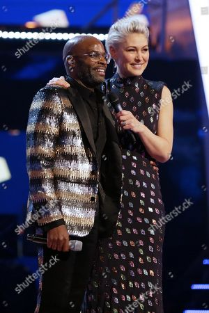 Stock Photo of Cedric Neal and Emma Willis