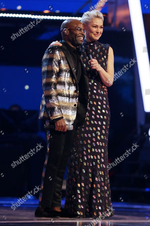 Stock Image of Cedric Neal and Emma Willis