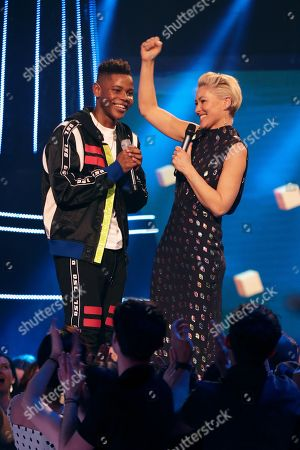 Donel Mangena and Emma Willis