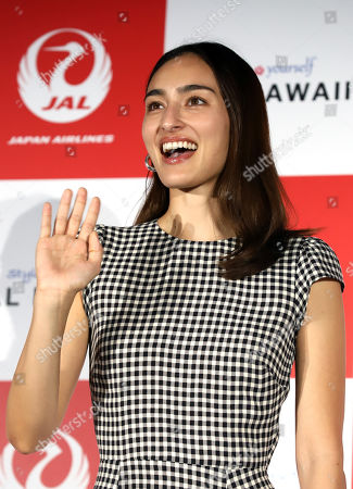 Editorial photo of Japan Airlines' tourism promotion event, Tokyo, Japan - 29 Mar 2019