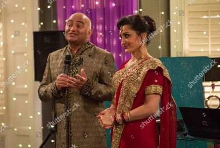 Ep 8441 Tuesday 9th April 2019 - 2nd Ep At the party, Jai Sharma's attempts to speak to Rishi Sharma, as played by Bhasker Patel, are thwarted, and as Rishi starts a speech about his love for Manpreet, as played by Rebecca Sarker, Jai's far from impressed. As the speech eventually ends, an angry Jai tells him what he found on Manpreet's computer...