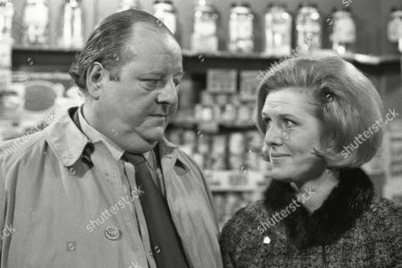 John Sharp as Les Clegg and Irene Sutcliffe as Maggie Clegg