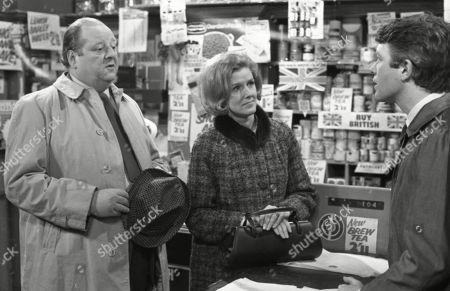 John Sharp as Les Clegg, Irene Sutcliffe as Maggie Clegg and Alan Rothwell (as David Barlow)