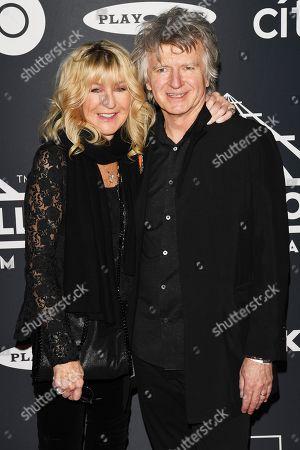 Stock Image of Christine McVie and Neil Finn