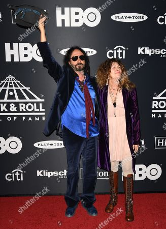 Stock Image of Mike Campbell and guest