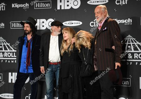 Editorial picture of Rock and Roll Hall of Fame Induction Ceremony, Press Room, Barclays Center, Brooklyn, USA - 29 Mar 2019