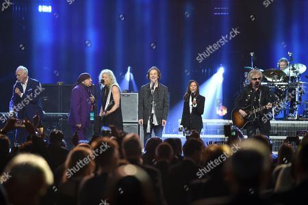Editorial picture of Rock and Roll Hall of Fame Induction Ceremony, Show, Barclays Center, Brooklyn, USA - 29 Mar 2019