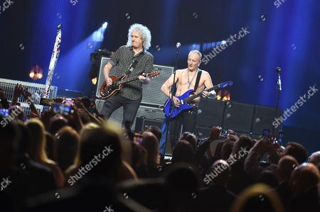 Brian May and Phil Collen