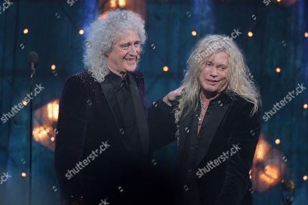 Brian May and Rick Savage
