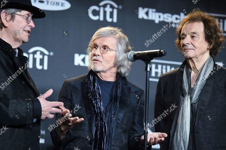 Chris White, Rod Argent and Colin Blunstone, The Zombies
