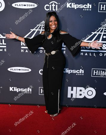 Editorial image of Rock and Roll Hall of Fame Induction Ceremony, Arrivals, Barclays Center, Brooklyn, USA - 29 Mar 2019