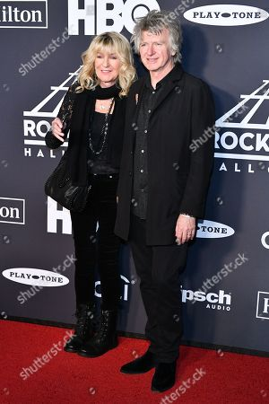 Christine McVie and Neil Finn of Fleetwood Mac