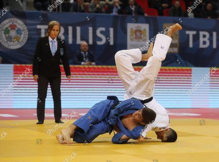 Editorial photo of Judo Grand Prix in Tbilisi, Georgia - 29 Mar 2019