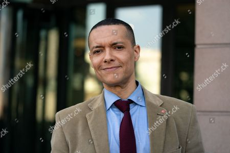Clive Lewis MP seen in Westminster as a Leave Means Leave demonstration takes place in Westminster on the day that Britain was originally due to leave the European Union. MPs today rejected Theresa May's withdrawal deal for the third time.