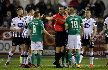 Editorial photo of SSE Airtricity League Premier Division, Oriel Park, Co. Louth  - 29 Mar 2019