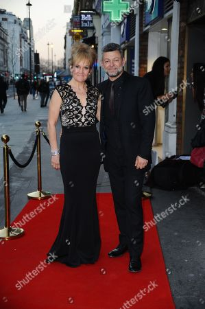 Andy Serkis and Lorraine Ashbourne