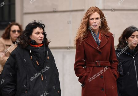 Editorial image of 'The Undoing' TV show on set filming, New York, USA - 29 Mar 2019