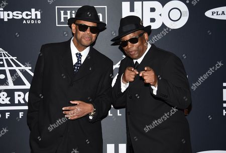 Jimmy Jam, Terry Lewis. Jimmy Jam, left, and Terry Lewis arrive at the Rock & Roll Hall of Fame induction ceremony at the Barclays Center, in New York