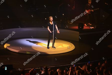 Editorial image of Benabar in concert at Grand Rex, Paris, France - 06 Nov 2018