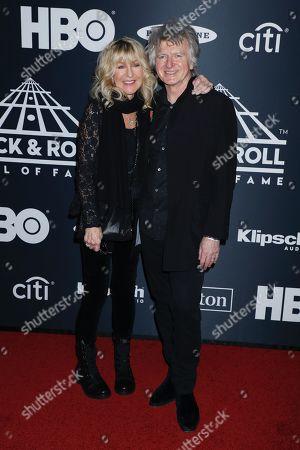 Christine McVie and Neil Finn