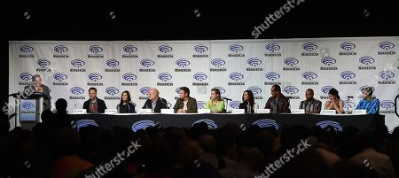 Editorial image of 'Legion' TV show photocall, WonderCon, Los Angeles, USA - 29 Mar 2019