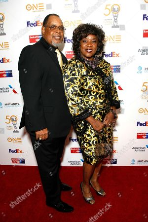 Glenn Marshall and Loretta Devine