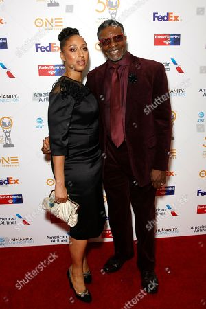 Keith David and Dionne Lea Williams