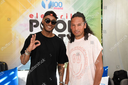 Sunnery James and Ryan Marciano perform at The Remix Top 30 Countdown