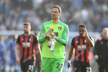 Goal keeper Asmir Begovic of AFC Bournemouth.