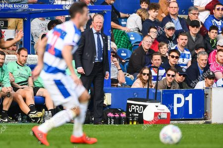 Queens Park Rangers Manager Steve McClaren during the EFL Sky Bet Championship match between Queens Park Rangers and Bolton Wanderers at the Loftus Road Stadium, London