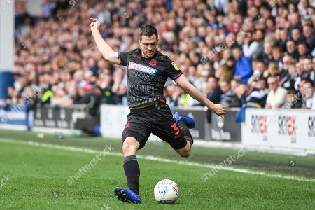 Bolton Wanderers defender Andrew Taylor (3) during the EFL Sky Bet Championship match between Queens Park Rangers and Bolton Wanderers at the Loftus Road Stadium, London